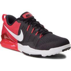 Buty NIKE - Zoom Train Action 852438 002 Black/White/Wolf Grey. Czarne buty fitness męskie Nike, z materiału, nike zoom. W wyprzedaży za 279,00 zł.