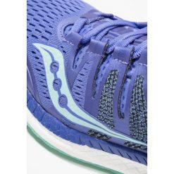 Saucony LIBERTY ISO Obuwie do biegania Stabilność violet/aqua. Fioletowe buty do biegania damskie Saucony, z materiału. Za 719,00 zł.