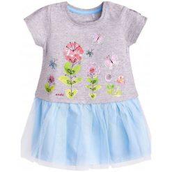 Sukienki niemowlęce: Sukienka z tiulowym dołem dla dziecka 9-36 m-cy