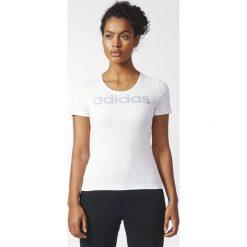 Adidas Koszulka Sportowa Damska Essential Special Linear Regular Tee W Biała r. XS - (CD1949). Szare t-shirty damskie marki Asics. Za 79,90 zł.