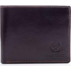 Ekskluzywny portfel męski Paolo Peruzzi Davet Brązowy. Brązowe portfele męskie marki House. Za 139,90 zł.