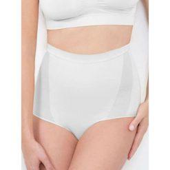 Majtki damskie: Figi modelujące w kolorze białym