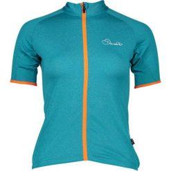 """Koszulka kolarska """"Cachet"""" w kolorze turkusowym. Niebieskie topy sportowe damskie Dare2b Women Fitness & Bike, z materiału. W wyprzedaży za 65,95 zł."""