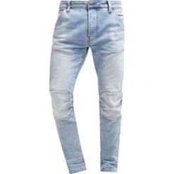 GStar 5620Z 3D SLIM Jeansy Slim Fit nippon stretch denim. Niebieskie rurki męskie G-Star, z bawełny. Za 469,00 zł.