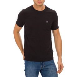 T-shirt w kolorze czarnym. Czarne t-shirty męskie GALVANNI, m, z okrągłym kołnierzem. W wyprzedaży za 84,95 zł.