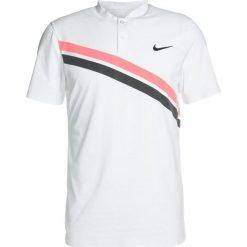 Nike Performance ROGER FEDERER  Koszulka polo white/white/lava glow/black. Białe koszulki polo Nike Performance, l, z materiału. Za 299,00 zł.