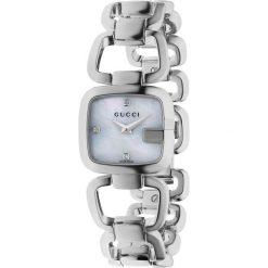 ZEGAREK GUCCI G-GUCCI YA125502. Białe zegarki damskie marki GUCCI, ze stali. Za 3740,00 zł.