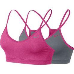 Biustonosze sportowe: Nike Biustonosz Victory Reversible Bra szaro-różowy r. M (623872 616)