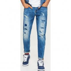 Jeansy COMFORT - Niebieski. Niebieskie jeansy męskie regular Cropp. Za 129,99 zł.