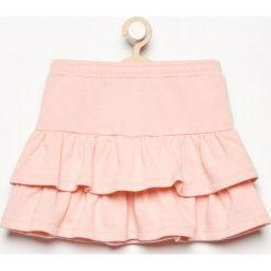 Spódnica z falbanami - Pomarańczo. Szare spódniczki dziewczęce Reserved. W wyprzedaży za 9,99 zł.