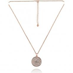"""Pozłacany naszyjnik """"Amarillo"""" z kryształkami Swarovski - dł. 42 cm. Czerwone naszyjniki damskie marki W.KRUK, srebrne. W wyprzedaży za 65,95 zł."""