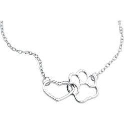 Mysterium® Love My Pet Naszyjnik srebrny. Szare naszyjniki damskie marki Mysterium®, srebrne. Za 42,90 zł.