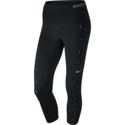 Nike Spodnie damskie W NP CPRI LNR RN GRX czarne r. S (855277 010). Czarne spodnie sportowe damskie marki Nike, xs, z bawełny. Za 159,00 zł.