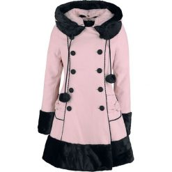 Hell Bunny Sarah Jane Coat Płaszcz damski jasnoróżowy (Light Pink). Czerwone płaszcze damskie pastelowe Hell Bunny, m, z materiału. Za 527,90 zł.