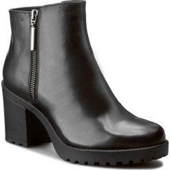 Botki VAGABOND - Grace 4228-301-20 Black. Czarne buty zimowe damskie Vagabond, z materiału. W wyprzedaży za 269,00 zł.