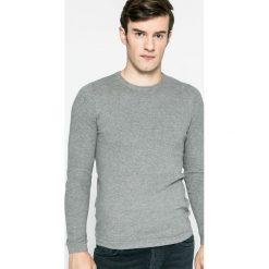 Dissident - Sweter. Szare swetry klasyczne męskie marki Dissident, m, z bawełny, z okrągłym kołnierzem. W wyprzedaży za 39,90 zł.