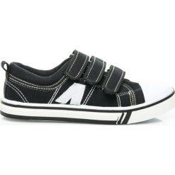 Chłopięce trampki CHLOE. Czarne buty sportowe chłopięce HASBY, sportowe. Za 39,95 zł.