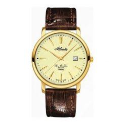 Zegarki męskie: Zegarek męski Atlantic Super De Luxe 64651-45-31