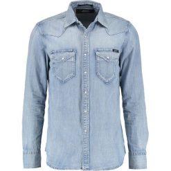 Replay Koszula blue denim. Niebieskie koszule męskie marki Replay. Za 409,00 zł.