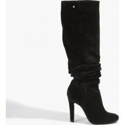 Kozaki czarne. Czarne buty zimowe damskie Badura. Za 375,99 zł.