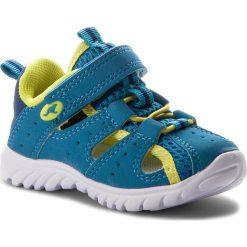 Sandały męskie skórzane: Sandały KANGAROOS – Rock Lite II 02001 000 417 Blue/Acid Yellow