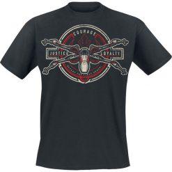 T-shirty męskie z nadrukiem: Star Wars Episode 7 - Das Erwachen der Macht - X-Wing Crest T-Shirt czarny