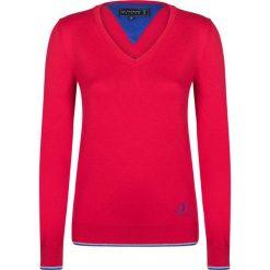 """Swetry klasyczne damskie: Sweter """"Shot"""" w kolorze czerwonym"""