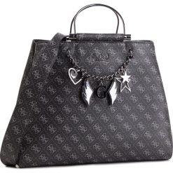 Torebka GUESS - HWSM71 79250 COA. Czarne torebki klasyczne damskie marki Guess, z aplikacjami, ze skóry ekologicznej. Za 739,00 zł.