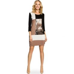 Sukienki: Mini sukienka bombka wieża Eiffla