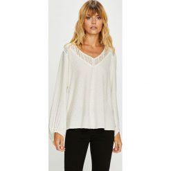 Roxy - Bluzka. Szare bluzki nietoperze marki Roxy, l, z materiału. W wyprzedaży za 239,90 zł.