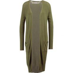 Swetry damskie: Vila VILOST POINTEL  Kardigan olivine