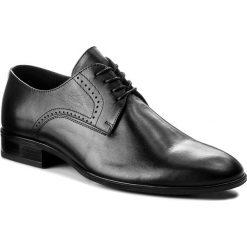 Półbuty WITTCHEN - 86-M-603-1 Czarny. Czarne buty wizytowe męskie Wittchen, z materiału. W wyprzedaży za 259,00 zł.