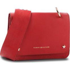 Listonoszki damskie: Torebka TOMMY HILFIGER - Leather Mini C AW0AW05720 614