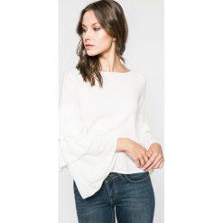 Only - Sweter. Szare swetry klasyczne damskie marki ONLY, s, z bawełny, casualowe, z okrągłym kołnierzem. W wyprzedaży za 59,90 zł.