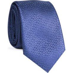 Krawat KWGR001619. Niebieskie krawaty męskie Giacomo Conti. Za 69,00 zł.