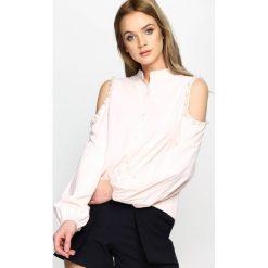 Różowa Koszula Hold Appeal. Czerwone bluzki damskie marki Born2be, s. Za 39,99 zł.