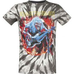 Iron Maiden Eddie Bass T-Shirt szary/czarny. Czarne t-shirty męskie z nadrukiem Iron Maiden, m, z okrągłym kołnierzem. Za 62,90 zł.