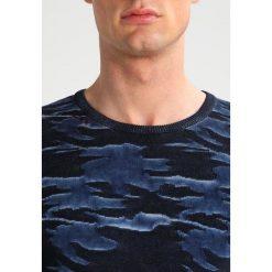 Swetry klasyczne męskie: Key Largo FINAL Sweter dunkelblau