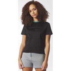 Koszulka adidas EQT Logo Tee (BP9292). Czarne bralety Adidas, z krótkim rękawem. Za 69,99 zł.