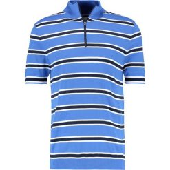 Samsøe & Samsøe MANUSH ZIP Tshirt z nadrukiem strong blue. Niebieskie koszulki polo Samsøe & Samsøe, l, z nadrukiem, z materiału. Za 369,00 zł.