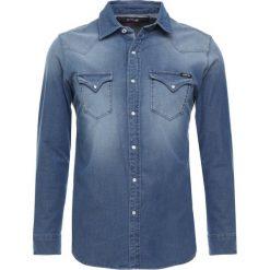 Replay Koszula blue. Zielone koszule męskie marki Replay, z bawełny. Za 559,00 zł.