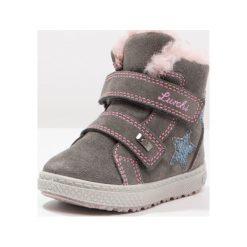 Lurchi NOE TEX Śniegowce grey. Czarne buty zimowe damskie marki Lurchi, z materiału. W wyprzedaży za 147,95 zł.