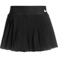Nike Performance GIRLS VICTORY SKIRT Spódnica sportowa black/white. Czarne spódniczki dziewczęce Nike Performance, z elastanu. Za 139,00 zł.