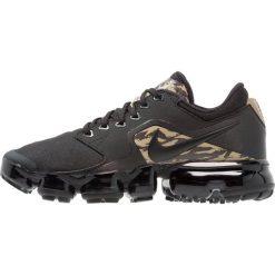 Nike Performance AIR VAPORMAX Obuwie do biegania treningowe black/khaki/velvet brown. Czarne buty do biegania męskie Nike Performance, z materiału. Za 609,00 zł.
