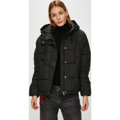 Vero Moda - Kurtka. Czarne kurtki damskie Vero Moda, l, z materiału, z kapturem. Za 259,90 zł.