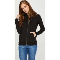 Armani Exchange - Bluza. Czarne bluzy z kapturem damskie marki Armani Exchange, l, z materiału. W wyprzedaży za 449,90 zł.