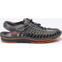 Keen - Sandały Unek Flat. Szare sandały męskie marki Keen, z gumy, z okrągłym noskiem. W wyprzedaży za 359,90 zł.