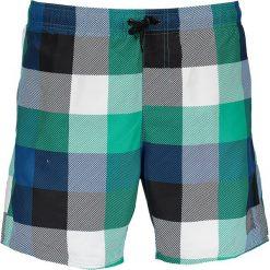 Szorty kąpielowe w kolorze niebiesko-zielonym. Niebieskie kąpielówki męskie marki Speedo, klasyczne. W wyprzedaży za 117,95 zł.
