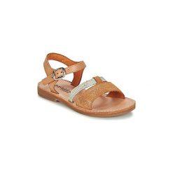 Sandały Dziecko  Babybotte  YVI. Brązowe sandały dziewczęce marki Babybotte. Za 279,00 zł.