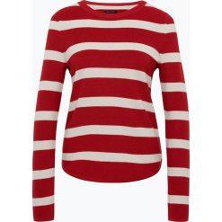 Swetry klasyczne damskie: Marc O'Polo – Sweter damski z dodatkiem kaszmiru, czerwony